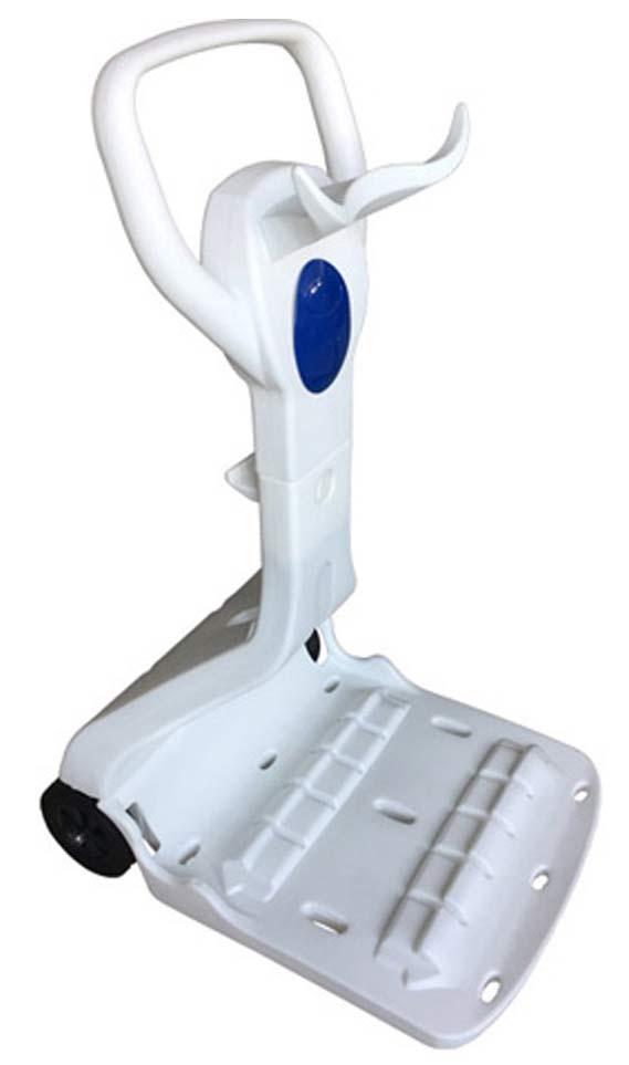 Robot piscine electrique Bestway RAPTOR LED avec chariot - Chariot robot électrique Bestway RAPTOR LED