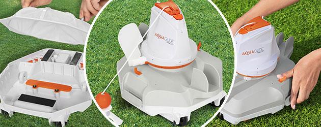 Robot piscine electrique Bestway AQUAGLIDE - Robot piscine AQUAGLIDE Bestway Innovation et précision 2021