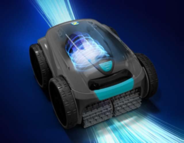 Robot piscine electrique Zodiac VORTEX OV3480 2021 avec chariot - Robot piscine électrique Zodiac OV3480 Effet VORTEX pour une aspiration ultra puissante