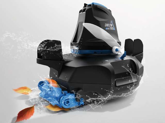 Robot piscine electrique sans fil DELTA 100 PLUS Kokido - Aspirateur piscine sans fil DELTA 100 PLUS Kokido