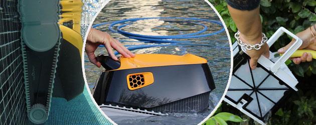 Robot piscine electrique Dolphin E20 - Robot piscine électrique Dolphin E20 Intelligence et efficacité